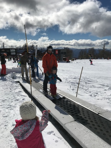 Hunters First Ski Day with Dad