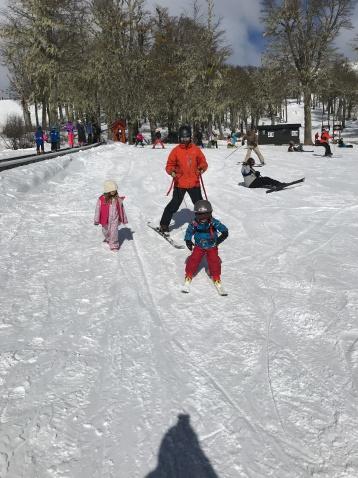 Hunters First Ski Day
